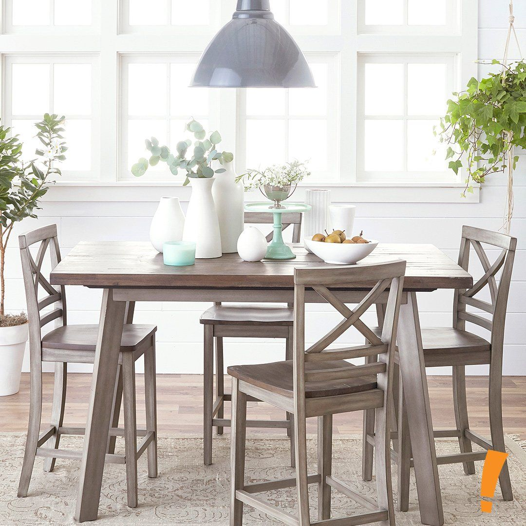 Fairhaven Pub Table Barstool Set Dining Table Dining Table