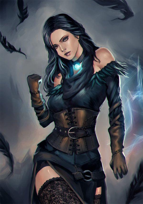 Witcher 3 Yennefer Alternative Costume Witcher Art The Witcher Warrior Woman