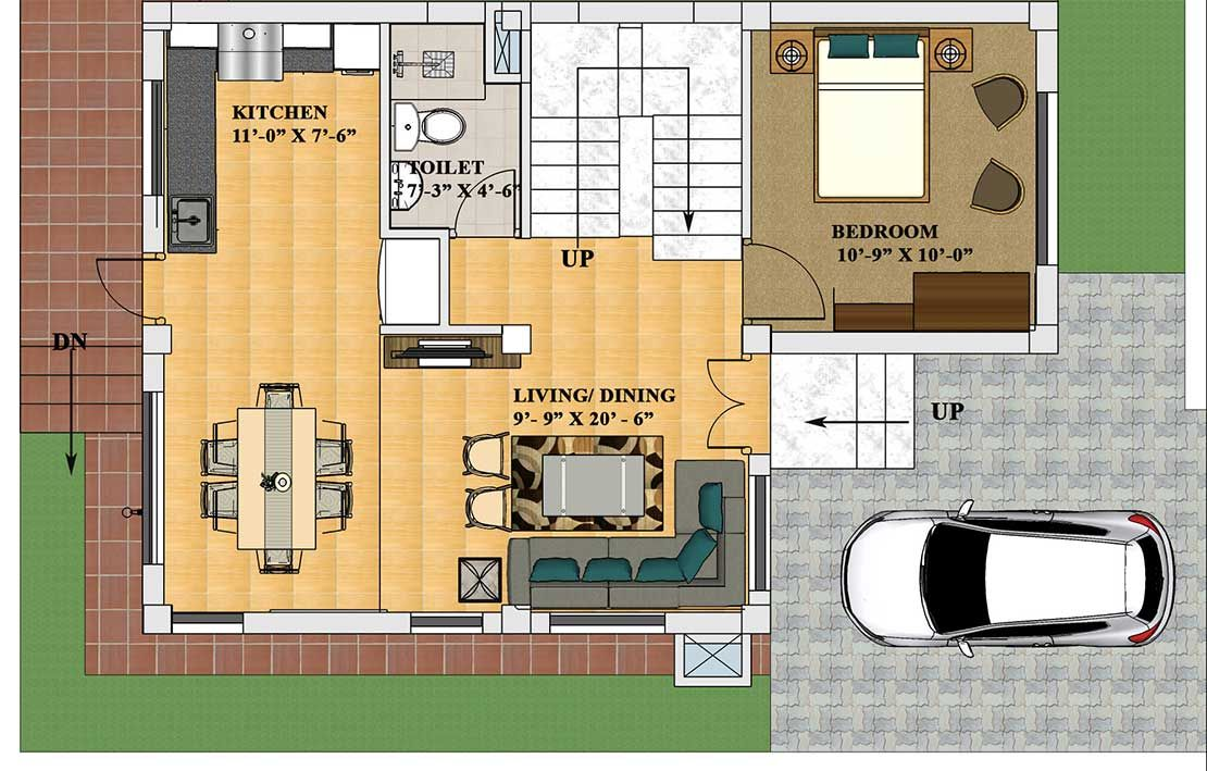 Phase Ix Godavari Civil Homes Bungalow House Plans House