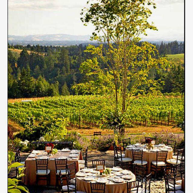 Vineyard wedding Vineyard wedding decor, Oregon