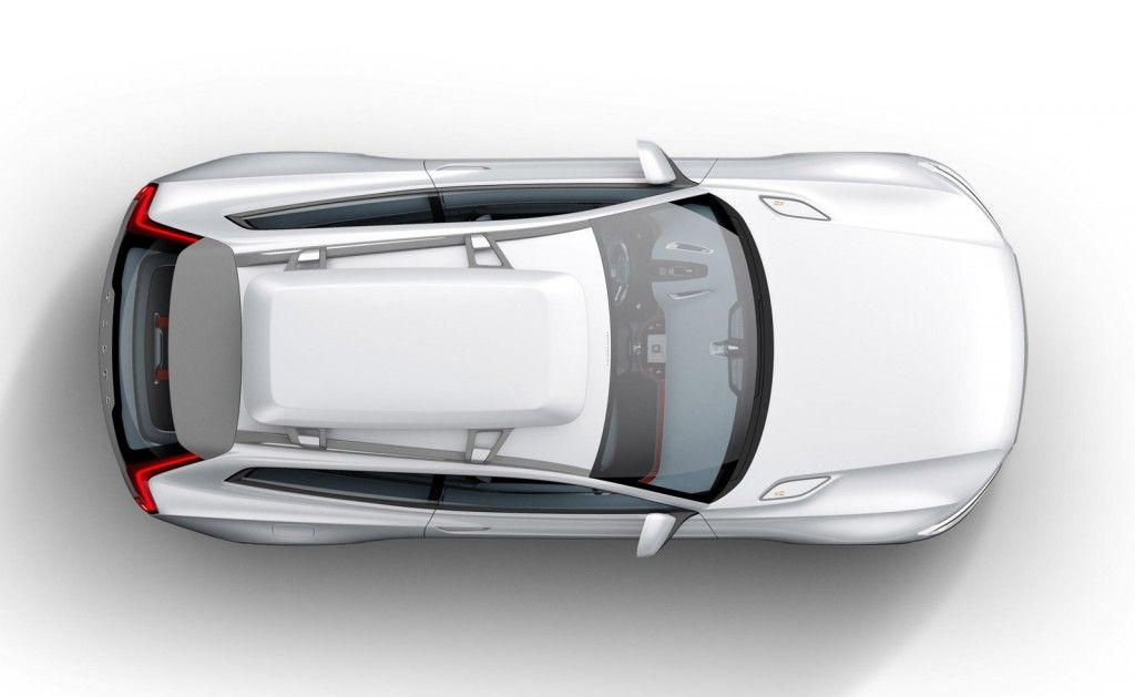 Volvo Teases New Concept XC Coupe Ahead Of Detroit Auto