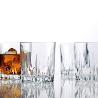 Glencoe Whiskey Glasses, Set of 4, from GreatGiftsforMen.com