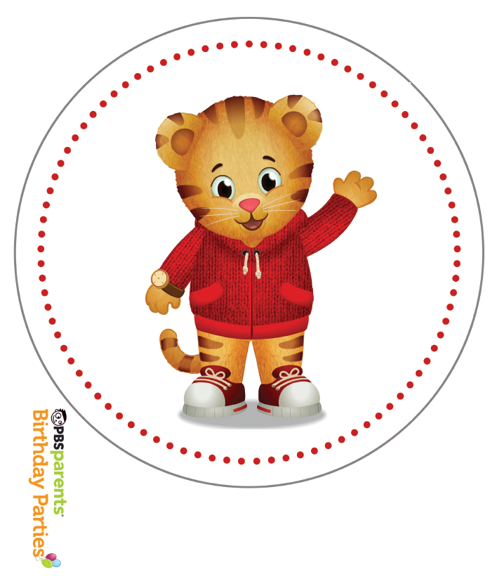 Http Www Pbs Org Parents Birthday Parties Daniel Tiger Birthday Party Decorations Pape Daniel Tiger Birthday Tiger Birthday Party Daniel Tiger Birthday Party