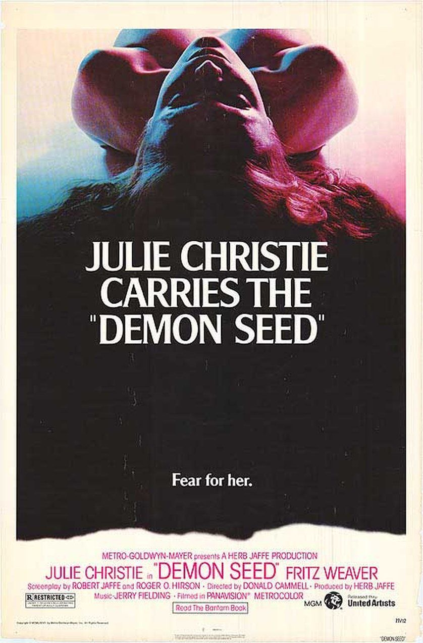 Demon Seed Review Demon Seed Is One Of Those Movies That Pose The Question If Man Was To Make An Arti Horror Movie Posters Movie Posters Best Movie Posters