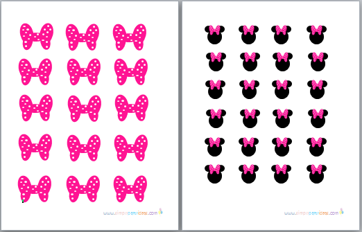 graphic regarding Printable Minnie Mouse Bow named cost-free minnie mouse printables - Google zoeken Maddies 1st