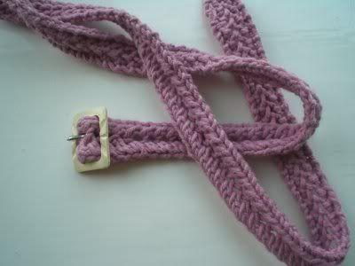 Beep Beep Pattern Knitted Belt Knitted Belts Pinterest