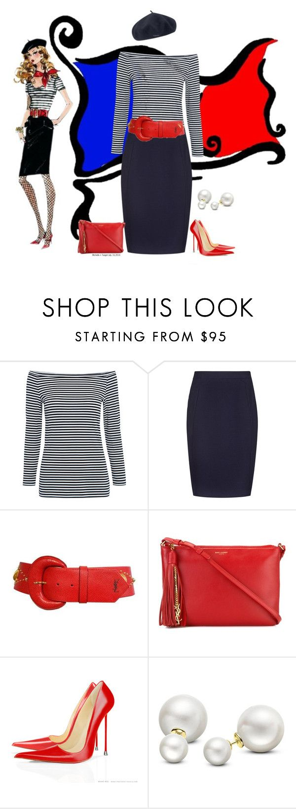"""""""And with Barbie style pumps"""" by veronababy ❤ liked on Polyvore featuring Theory, Reiss, Yves Saint Laurent, Allurez and kangol"""