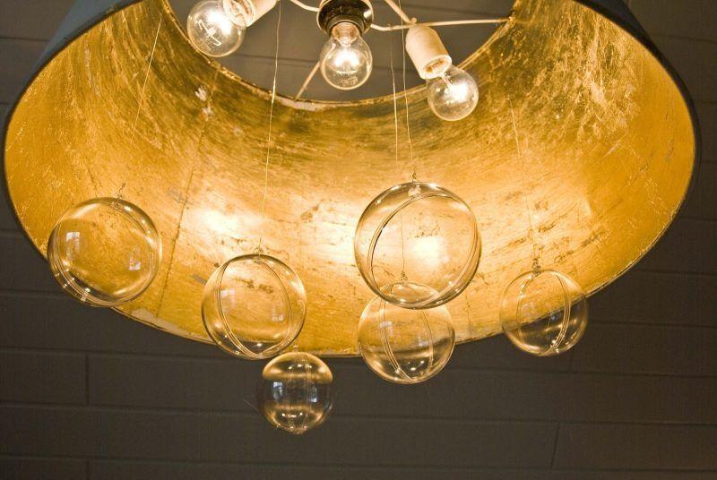 Ikea Kronleuchter Gold ~ Kronleuchter selber bauen aus ikea lampenshirm u2013 diy anleitung