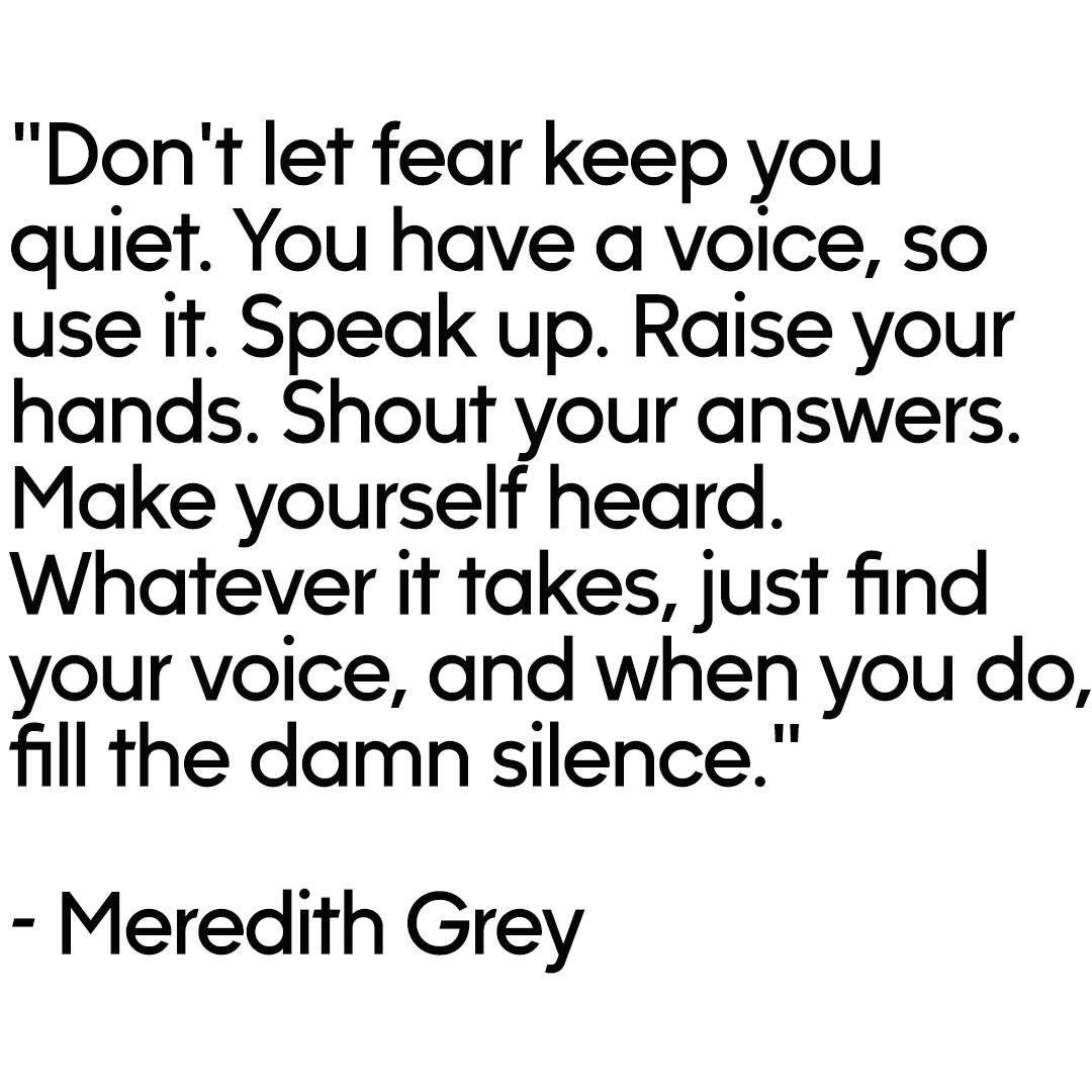 Greys Anatomy Quotes - Fushion News