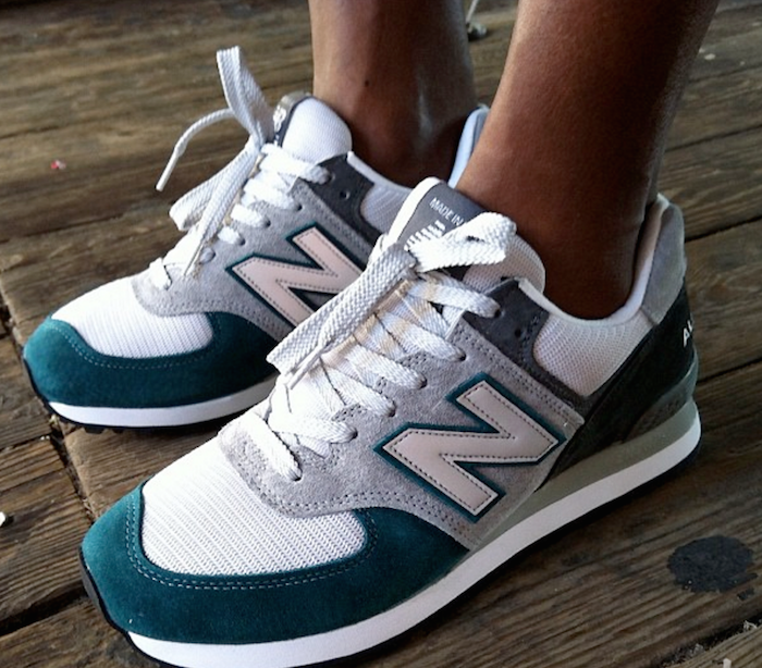 27aff6a154 The 14 BEST Custom New Balance 574 Sneakers | workout stuff | Shoes ...