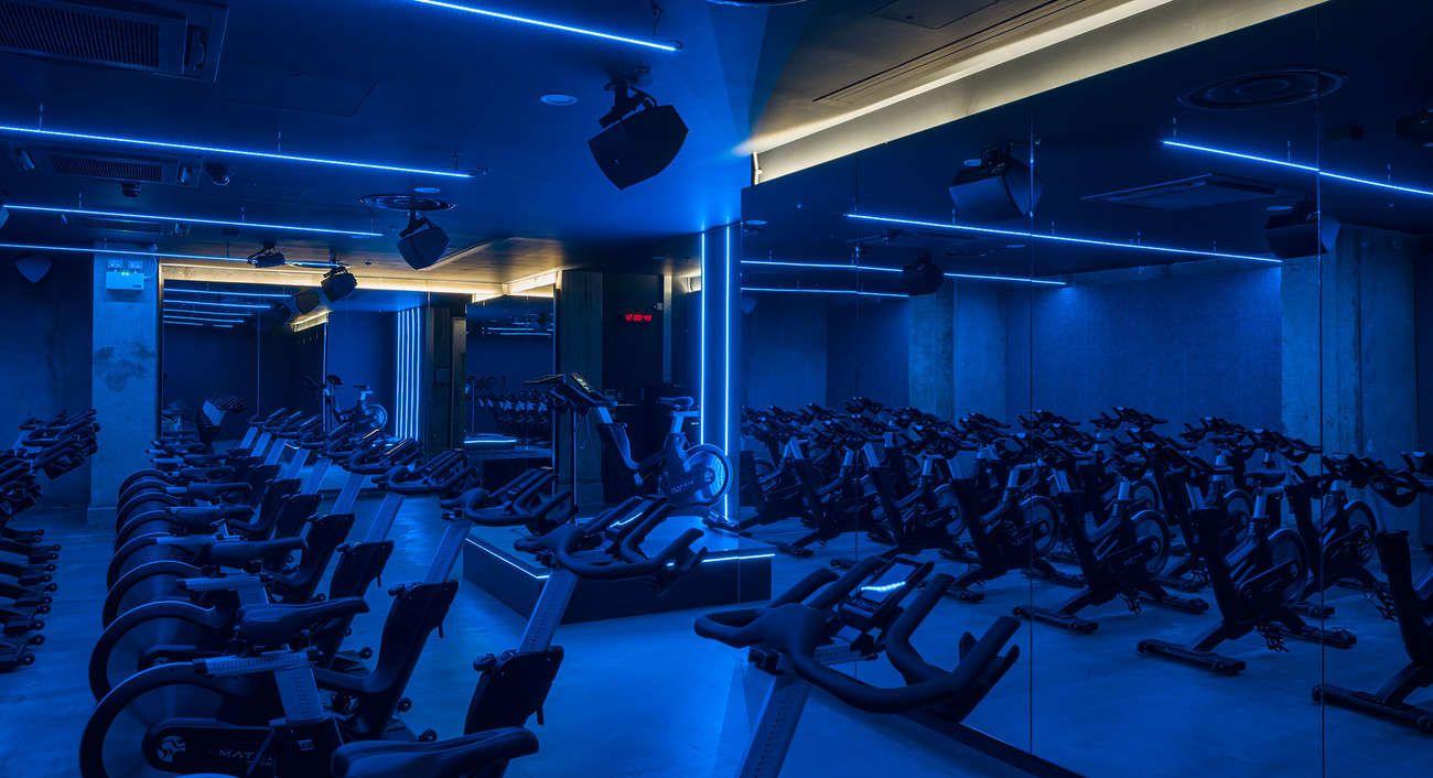 Gymbox New Farringdon Lightivity Gym Design Boxing Gym Farringdon