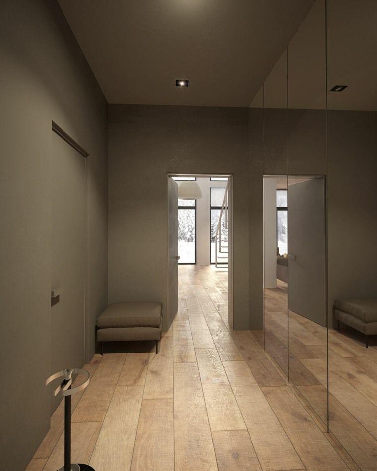 Maison D'Intérieur Moderne Et Styles Différents Dans Chaque Pièce