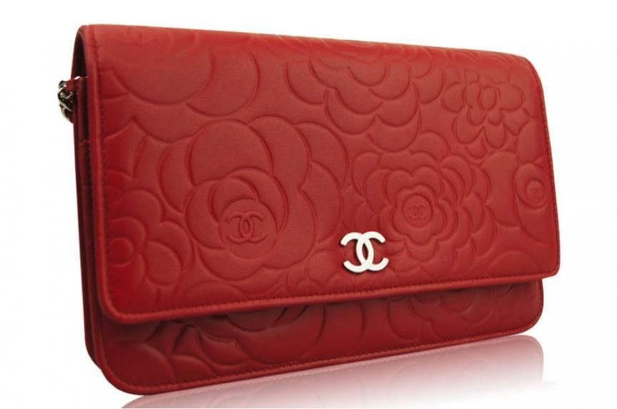 acc0c7d64ea7 chanel woc camellia red | Fashion/Beauty/Blah ;) | Chanel wallet ...
