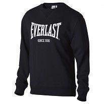Everlast Bronx Crew Pullover Mens Gents Jumper Full Length Sleeve Neck Block