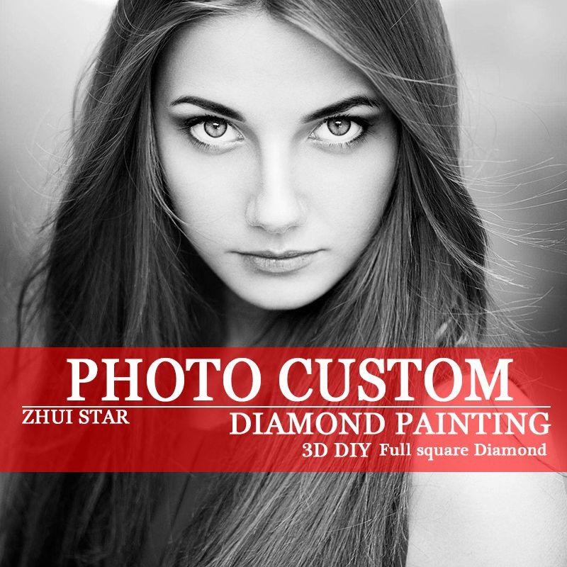 Diy diamant schilderen foto custom 5d prive custom