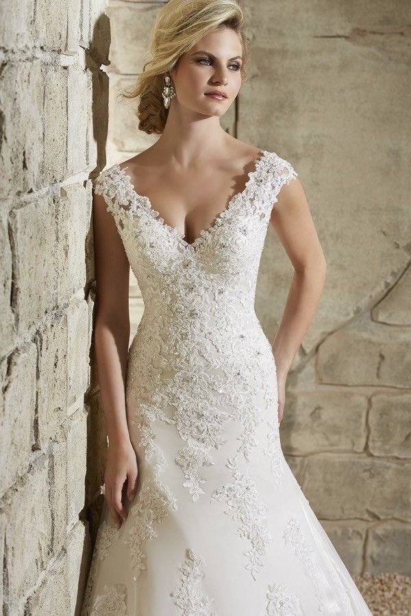 Assez Vestiti da sposa a sirena in pizzo | Abiti da sposa | Pinterest  YV64