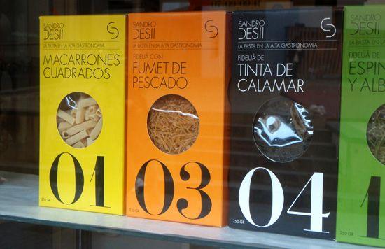 Packaging Barcelona window
