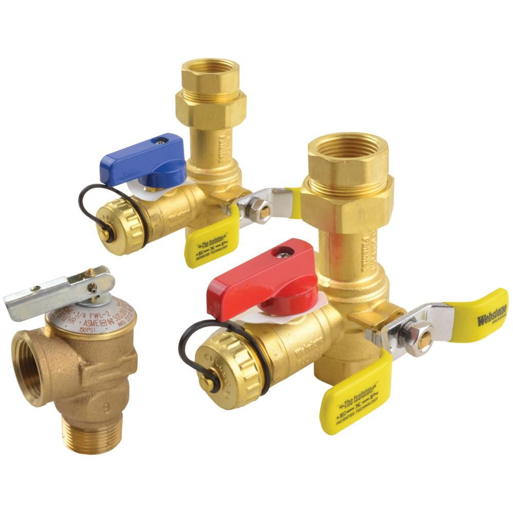 Rheem Brass Service Valves For Tankless Water Heaters Rtg20220ab The Home Depot Tankless Water Heater Tankless Water Heater Gas Gas Water Heater