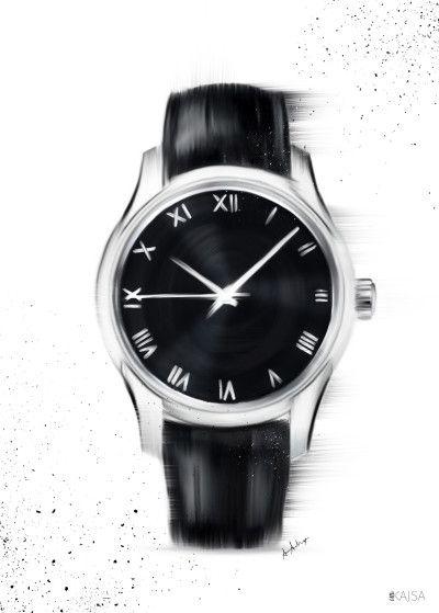 Klocka Clean av Little Kajsa - Poster för dina väggar från Gallerix, pris från 79 kr. Besök oss på https://www.gallerix.se