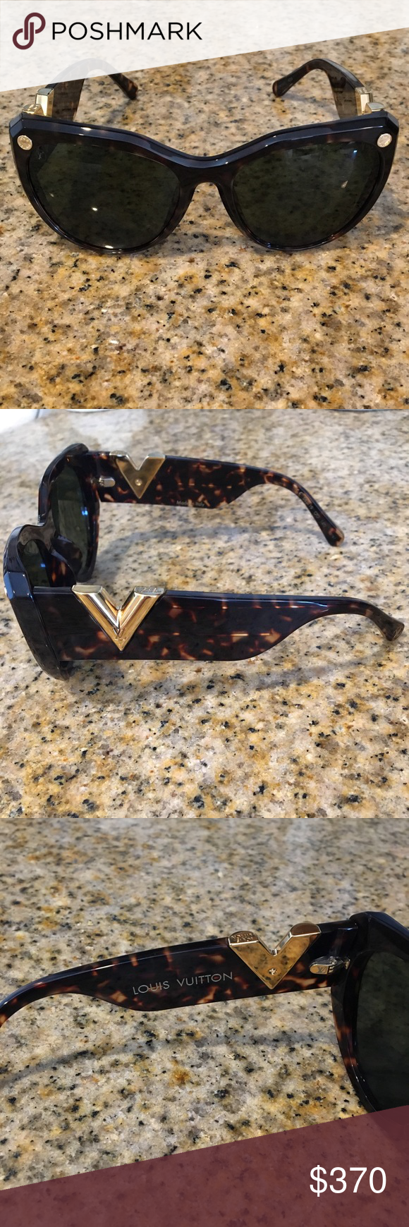 2c02385f3794c Authentic Louis Vuitton My Fair Lady sunglasses My Fair Lady Louis Vuitton  tortoise sunglasses. Excellent condition no scratches. These are sold for   515.00 ...