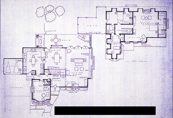 TV Shows By The Floor Plan - Bewitched House