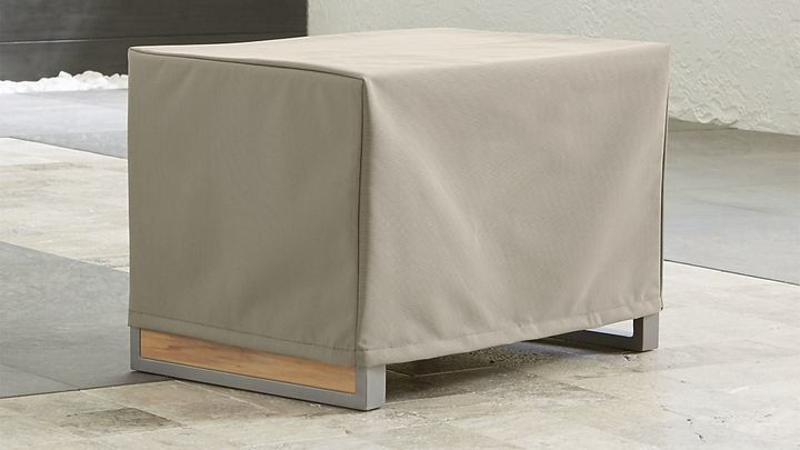 Crate Barrel Outdoor Rectangular Side Table Cover Products