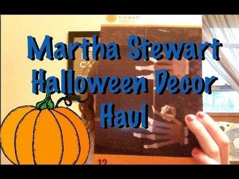 martha stewart halloween decor haul - Martha Stewart Halloween Decor