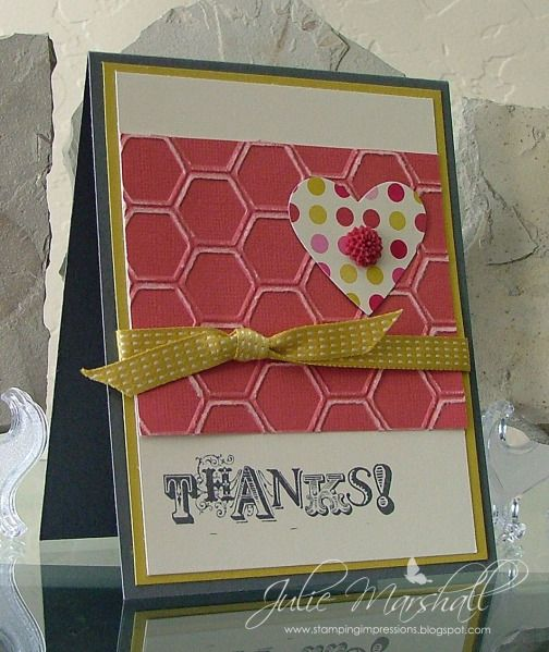 Thanks! by ju012835 - Cards and Paper Crafts at Splitcoaststampers