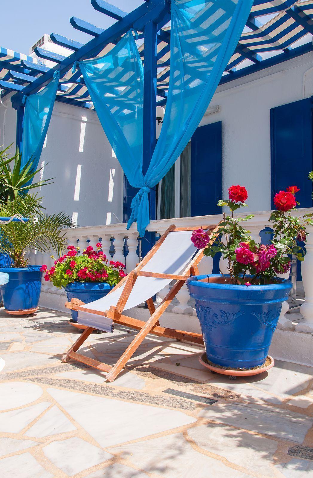 Greek Backyard Designs house in mani greece Greek Style Yard And Deck