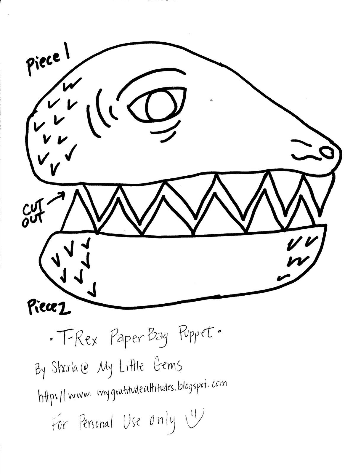 My Little Gems Dinosaur Activities For Preschoolers And