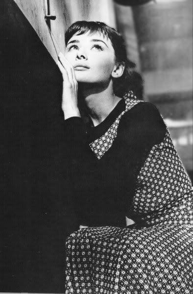 Sabrina, 1954. #audreyhepburn
