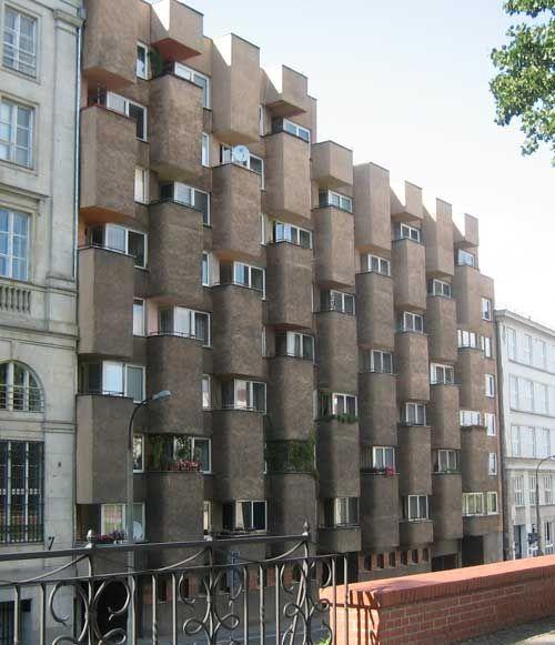 Funky Soviet Era Apartments On Karowa Warsaw Moscow Metro Station