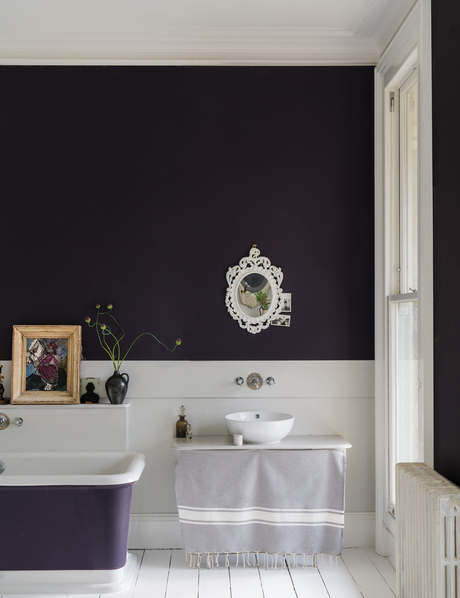 New Colors By Farrow Ball Decor8 New Paint Colors Farrow Ball Traditional Bathroom Designs