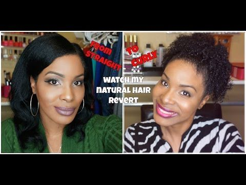Hey Checkout My Straight to Curly | Watch My Natural Hair Revert!~PiecesofNika - YouTube #naturalhair #curlyhair #teamnatural #straighttocurly