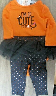 Carter's Just One You Outfit I'm So Cute It's Spooky Halloween Outfit Size 3 mo #affilink #halloween #happyhalloween #halloween2017 #trickortreat #halloweenparty #halloweenmakeup #halloweenmakeupideas #halloweencostume #halloweengiveaway #halloweencontest #halloweenparty #halloweentheme #halloweennight #halloweenhaunt #halloweendecorations #halloweenfun #halloweencandy #halloween #halloweenmask #halloweenbaby #halloweentown #halloweenspirit #outdoordecorations #spookyoutfits