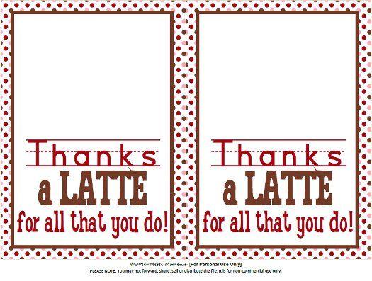 Sweet Metel Moments Free Printable - Teacher Appreciation - \