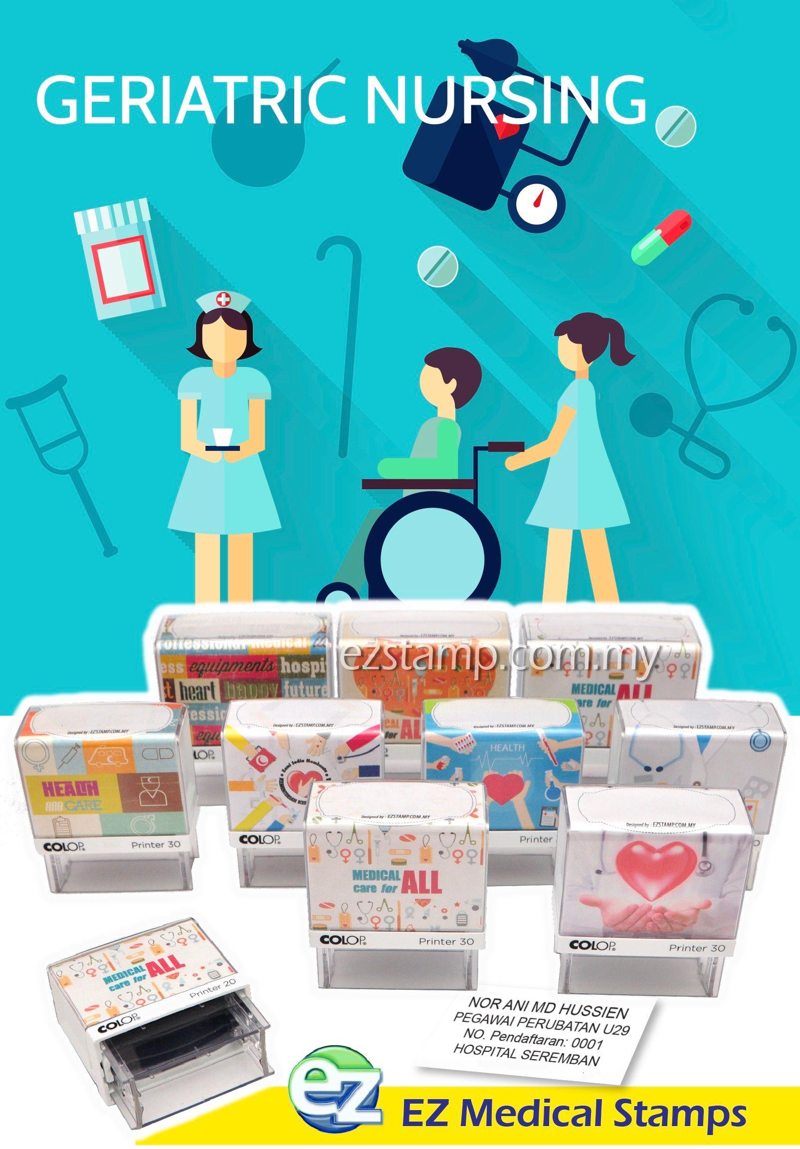 Ez Stamp Cop Utk Pegawai Perubatan, Nurses, Doctor Di Malaysia
