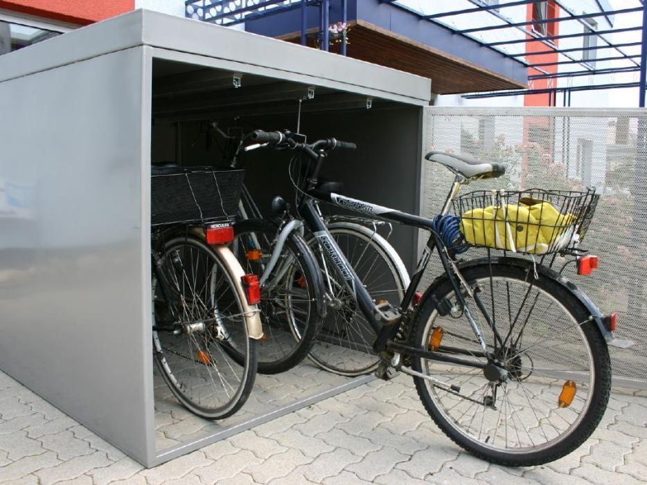 Fahrradboxen Fahrradbox Fahrradgarage Fahrrad Wandhalterung
