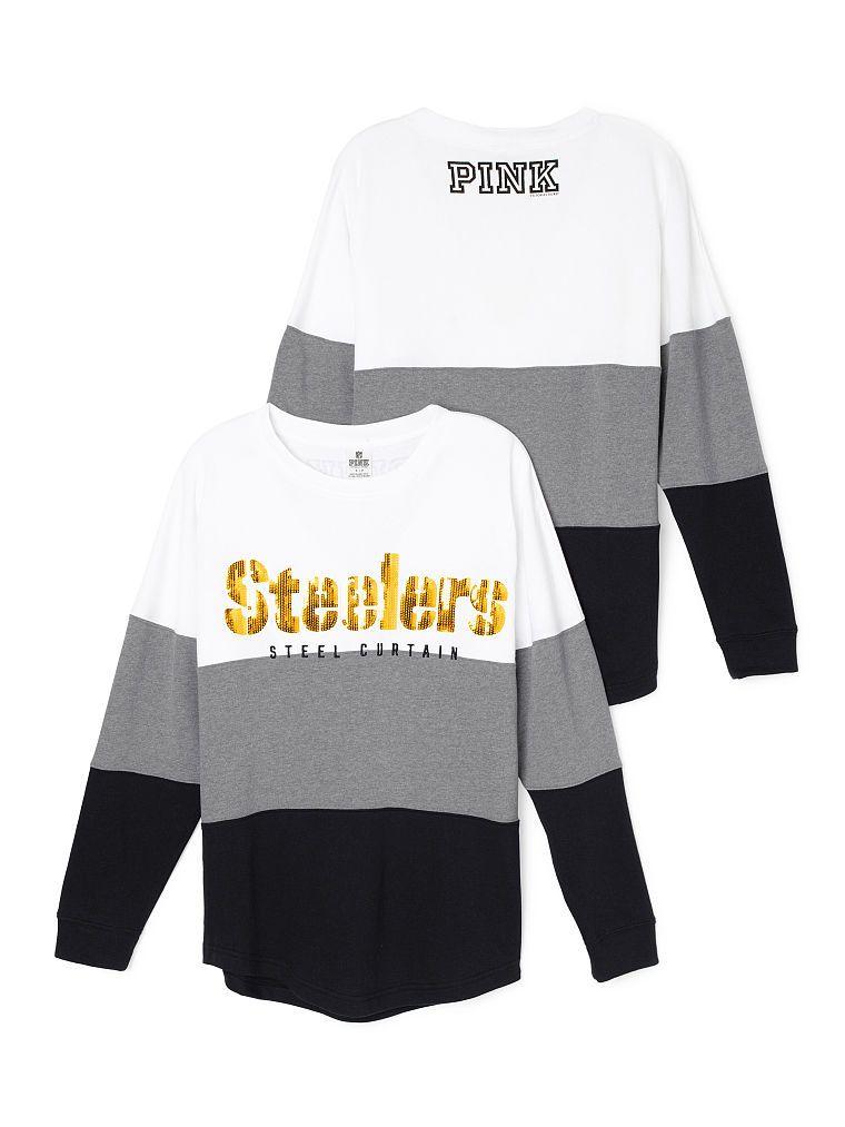 Pittsburgh Steelers Varsity Crew - PINK - Victoria s Secret  d277edf1f