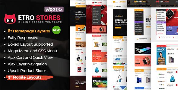Download Etro Store v1.3.0 - Multipurpose Responsive WooCommerce ...