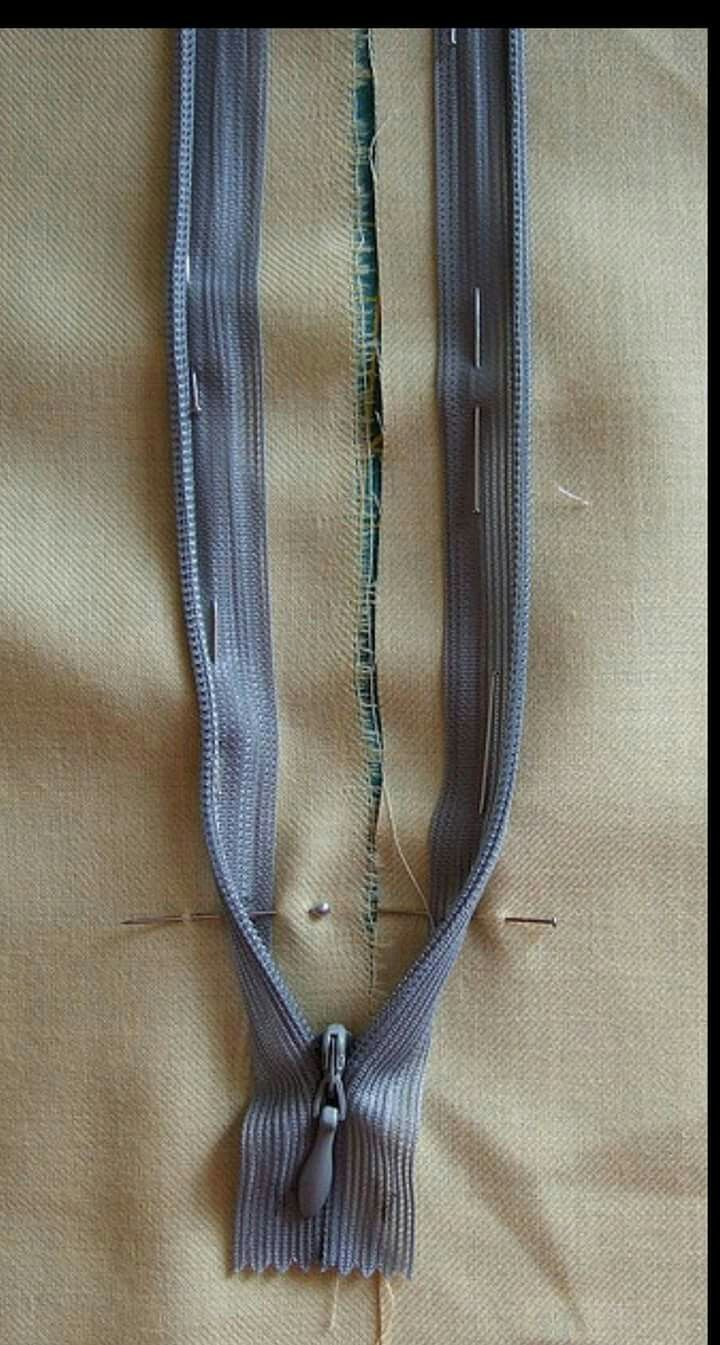 Colocar Cierre Invisible Create Pinterest Costura Cremallera