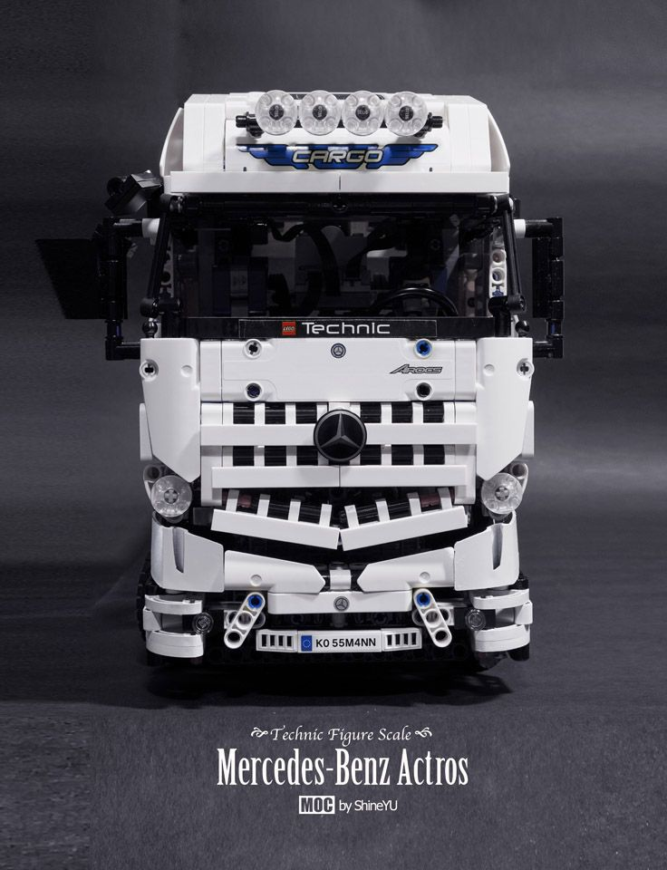 Hello Everyone Let Me Introduce My New Moc Mercedes Benz Actros