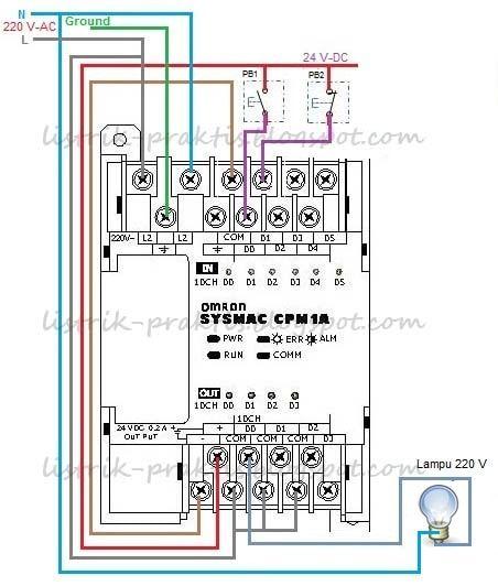 Cara membuat rangkaian mesin cuci dua tabung sendiri dengan mudah instalasi hardware plc lampu staircase ccuart Image collections