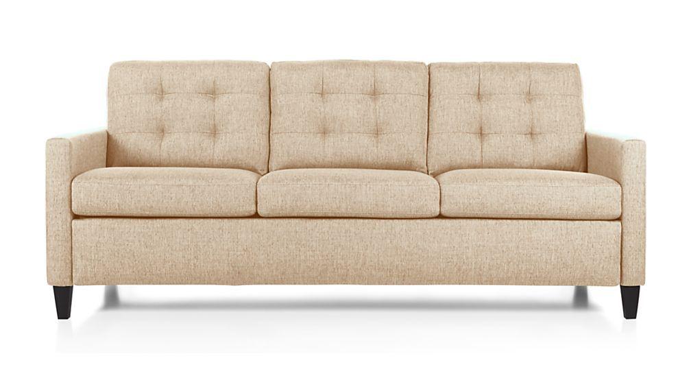 Karnes King Sleeper Sofa Crate And Barrel Sleeper Sofa
