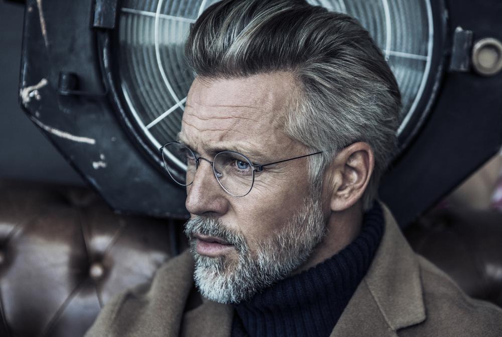 Remco Venderlinden On Behance Grey Hair Men Beard Styles For Older Men Grey Hair And Glasses