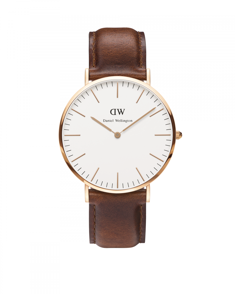 Hodinky DANIEL WELLINGTON Classic St Andrews Rose Gold 40mm | MOLOKO