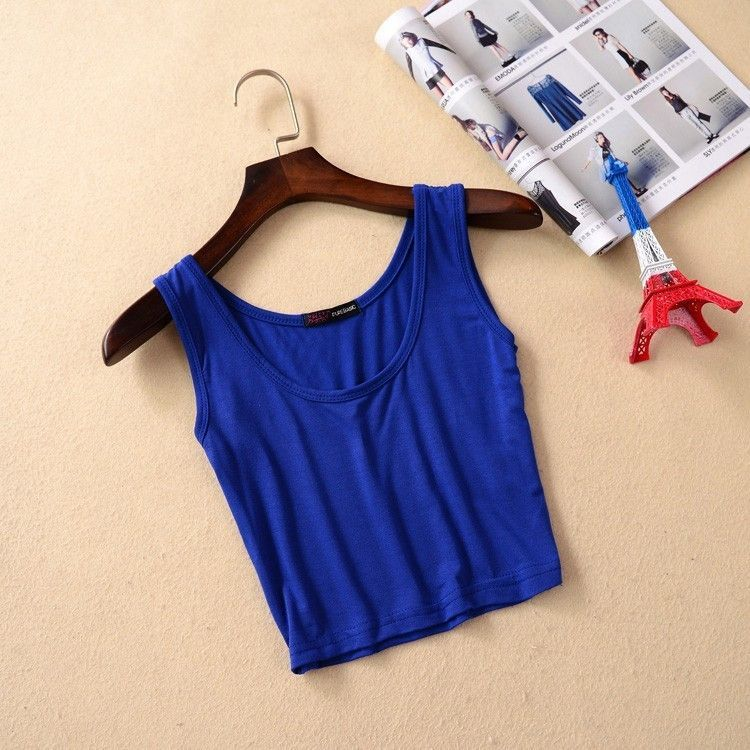 Womens Fitness Summer Style Crop Top