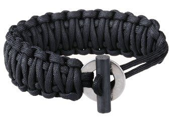 The Friendly Swede Adjustable Premium Paracord Bracelet With Fire