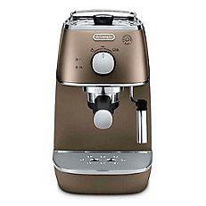 DELONGHI DISTINTA ECI341.BZ 15 Bar Pump Espresso Coffee Machine in Bronze