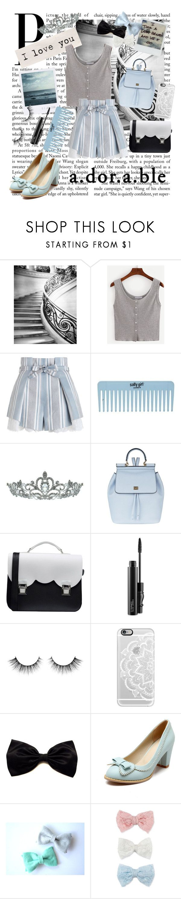 """♡ A•dor•a•ble ♡"" by vnghe ❤ liked on Polyvore featuring Zimmermann, Kate Marie, Dolce&Gabbana, La Cartella, MAC Cosmetics, Casetify, Polaroid and Decree"